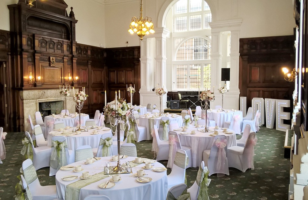 Wakefield Town Hall Wedding Fayre