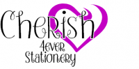 Cherish 4ever Stationery
