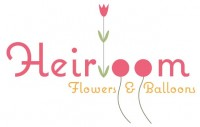 Heirloom flowers and balloons