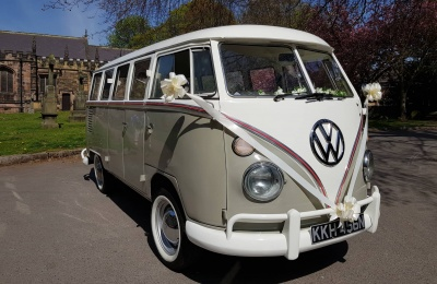 Shakespeare Vintage Wedding Campervans