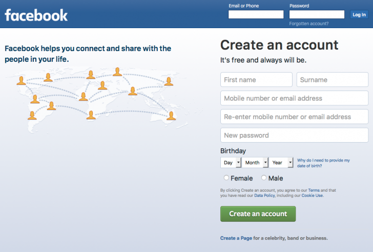 How to Quickly Create Your Own Facebook Profile (for Business Page use)