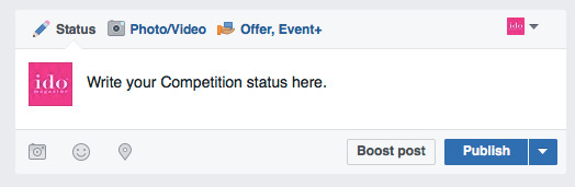 How to successfully run a Facebook Competition