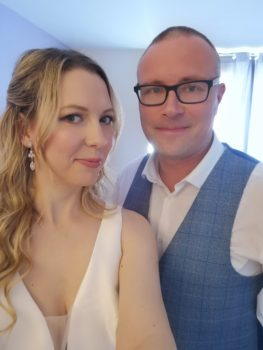Weddings in Lockdown: Sarah and Gareth