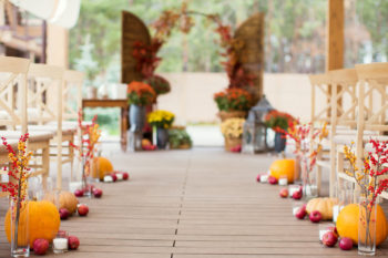 Autumnal Wedding Theme Ideas