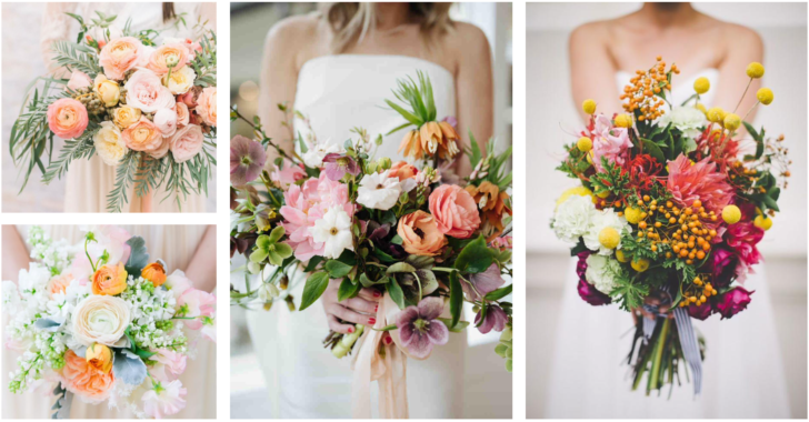 Seasonal Spring Florals for a Spring Wedding